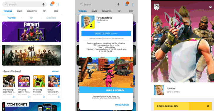 Critical Flaw in Fortnite Android App Lets Hackers Install Malware
