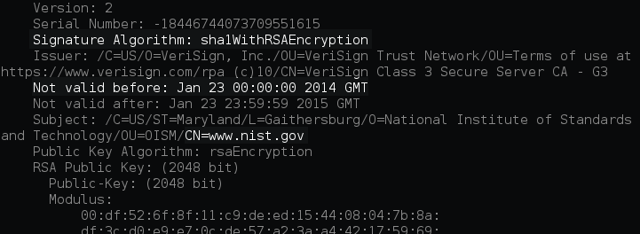 98% of SSL enabled websites still using SHA-1 based weak Digital Certificates