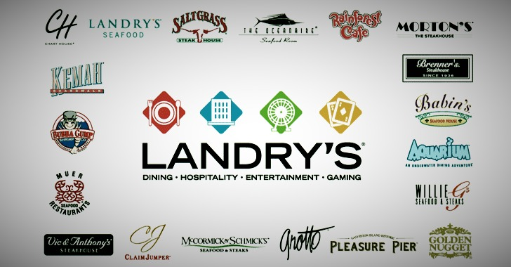 Landry's Restaurant Chain Suffers Payment Card Theft Via PoS Malware