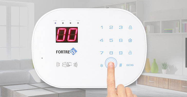 Fortress Wi-Fi Home Security Alarms