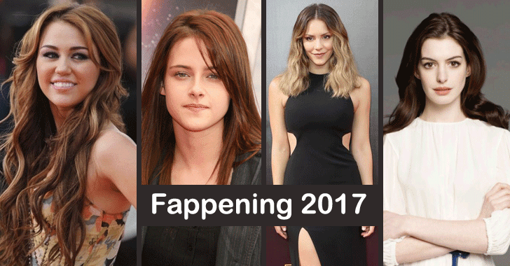 Fappening 2017: More Celebrity Photos Hacked and Leaked Online