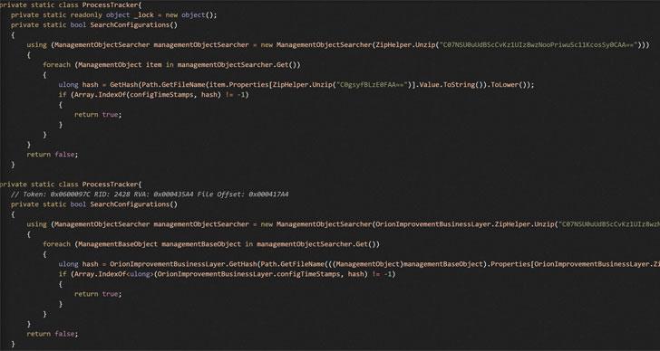 Malware SUNSPOT