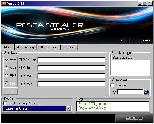 Pesca 0.75 Local Stealer - Download !