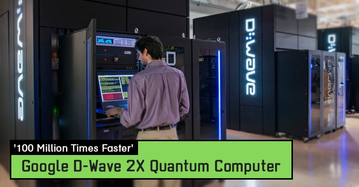 It Works! Google's D-Wave 2X Quantum Computer is '100 Million Times Faster'