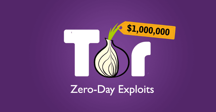 Zerodium Offers $1 Million for Tor Browser 0-Days That It will Resell to Governments