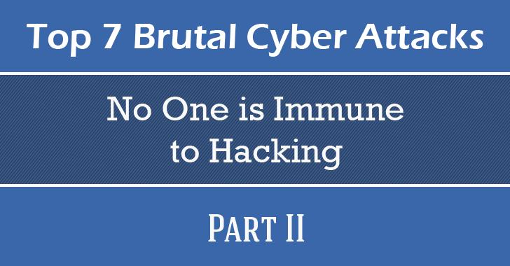 Brutal Cyber Attacks