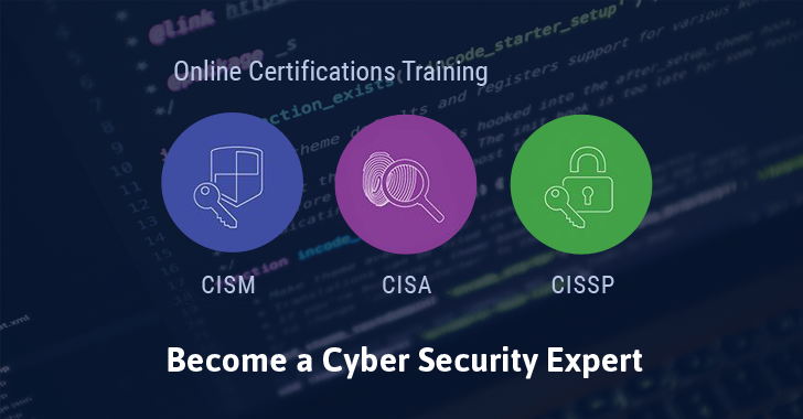 Cyber Security Training Courses – CISA, CISM, CISSP Certifications