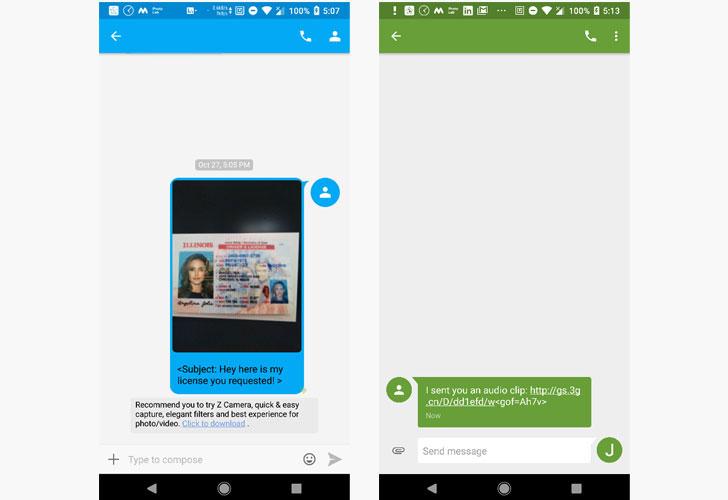 SMS hacking