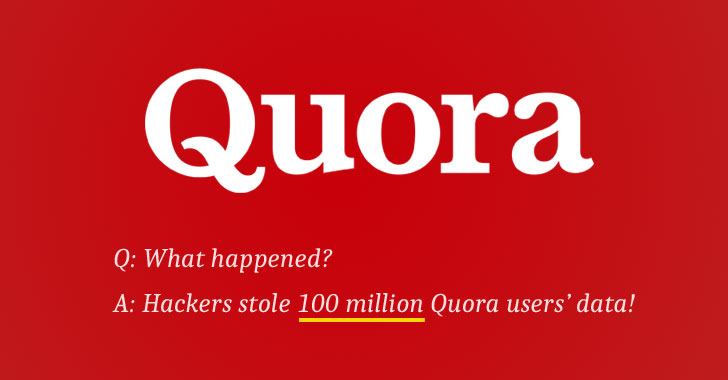 data breach quora website hacked
