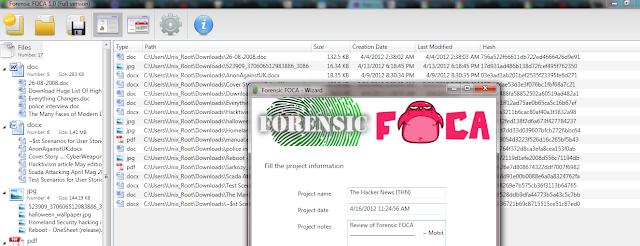 Forensic FOCA - Power of Metadata in digital forensics