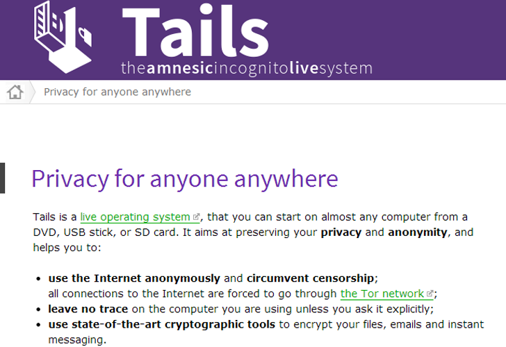 Researchers Demonstrate Zero-Day Vulnerabilities in Tails Operating System