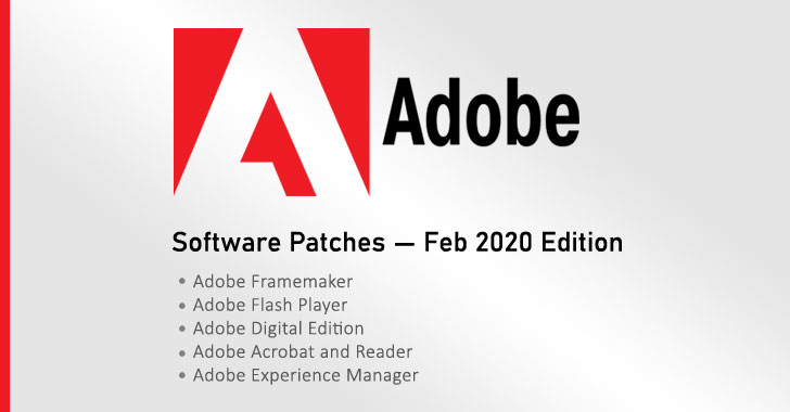 Adobe Releases Patches for Dozens of Critical Flaws in 5 Software