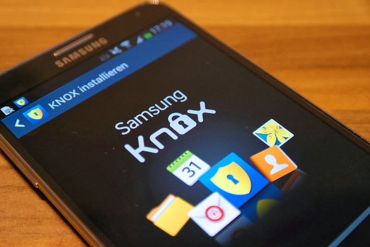 Samsung KNOX - An Encrypted Virtual Android operating system