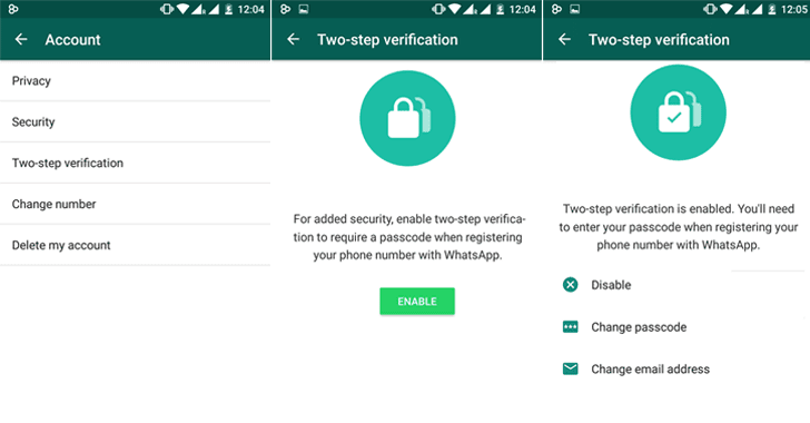 WhatsApp Adds​ ​2-Step Verification Passcode — Enable this Security Feature