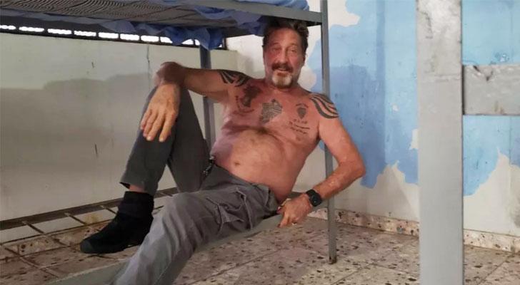 Antivirus Pioneer John McAfee Found Dead in Spanish Jail