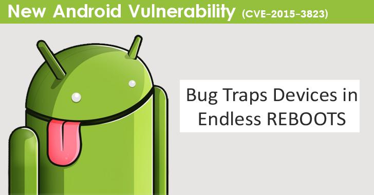 Android Endless Reboot Loop bug