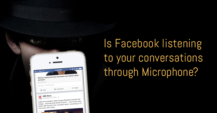Have you ever suspected that Facebook is listening to your conversations through Microphone?