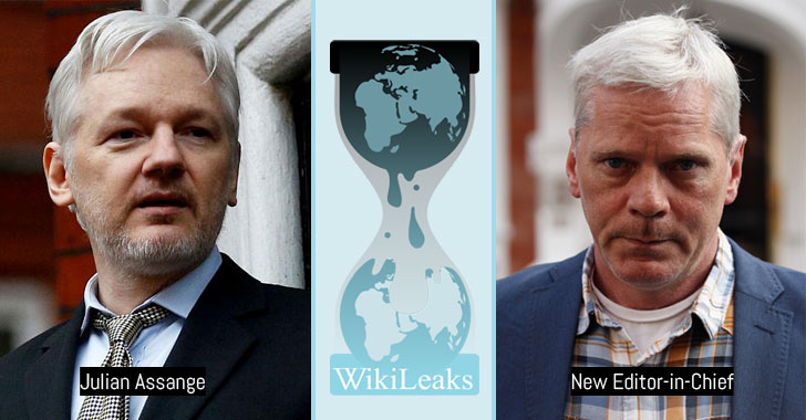 Julian Assange will no longer be the editor-in-chief of WikiLeaks