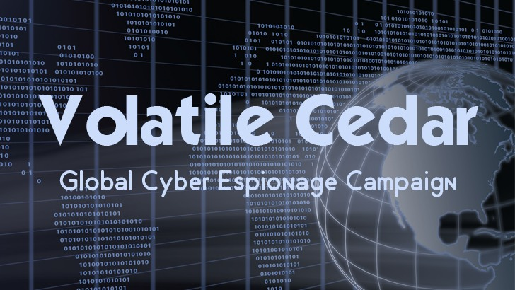 Volatile-Cedar-Cyber-Espionage