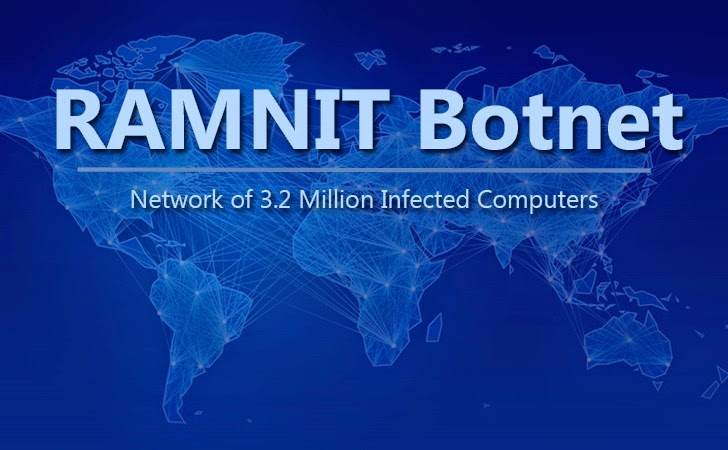 Europol Takes Down RAMNIT Botnet that Infected 3.2 Million Computers