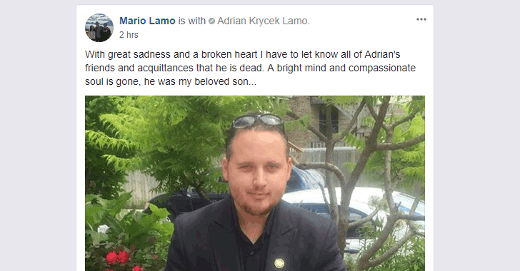 Ex-Hacker Adrian Lamo Dies at Age 37