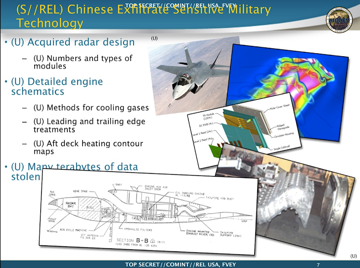 Chinese Spies Stole Australia's New F-35 Lightning II fighter Jet Design, Snowden Reveals