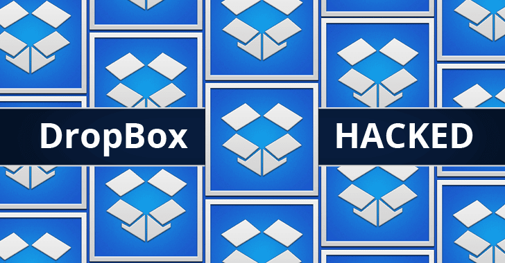 Dropbox Hacked — More Than 68 Million Account Details Leaked Online