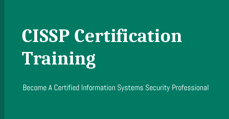 CISSP Certification Course — Become An IT Security Professional
