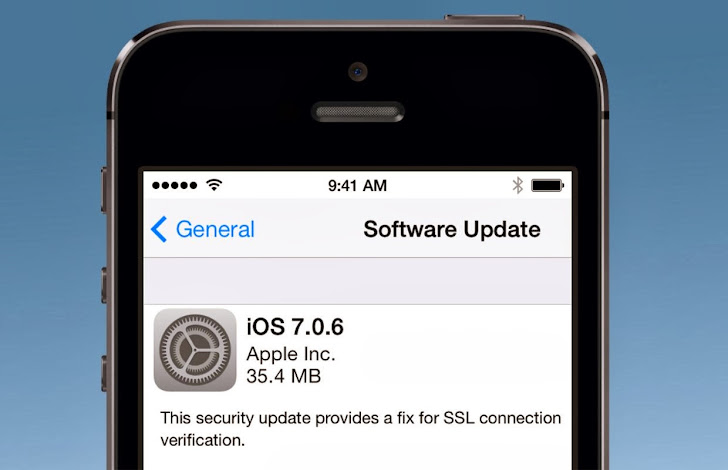 iOS vulnerable to Man-in-the-middle Attack, Apple Releases iOS 7.0.6 with Fix