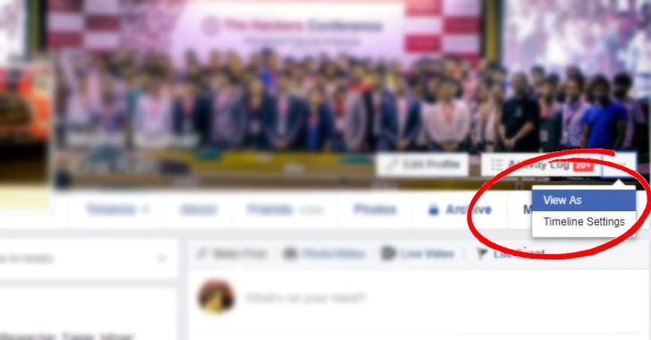 facebook viewas hack