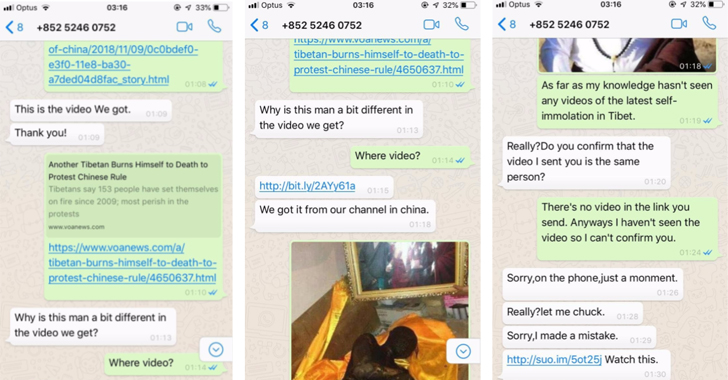1-Click iPhone and Android Exploits Target Tibetan Users via WhatsApp