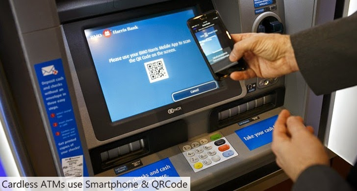 Smart ATM offers Cardless Cash Withdrawal to Avoid Card Skimmers