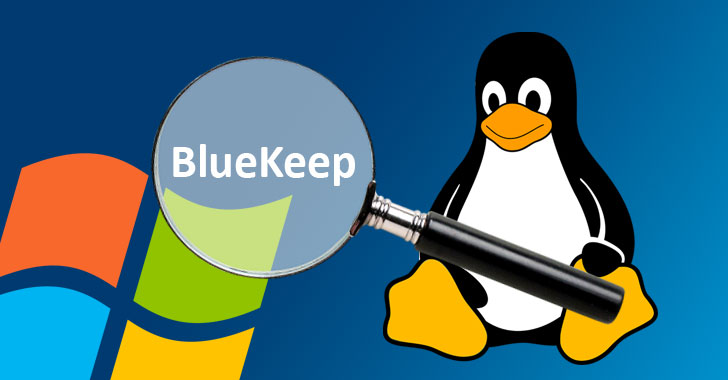 linux malware windows bluekeep