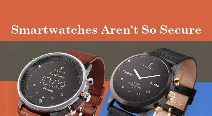 All Smartwatches are vulnerable to Hackers