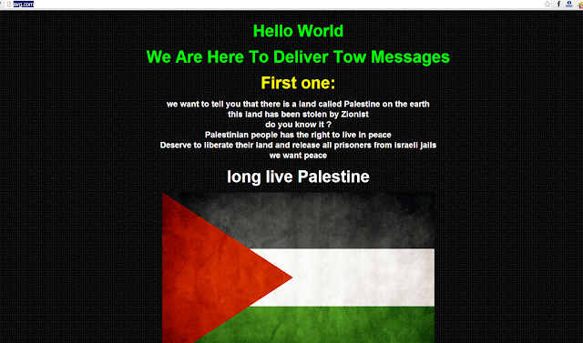 Whatsapp and AVG Antivirus Website defaced by Palestinian Hackers