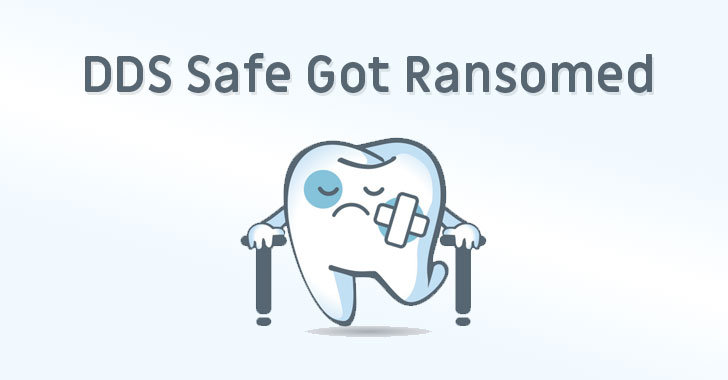 dds safe dental ransomware attack