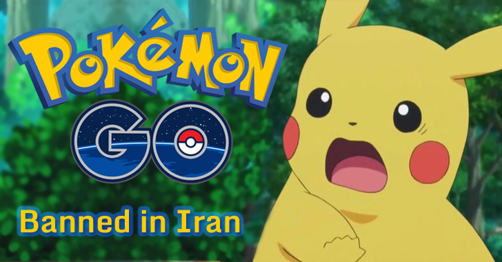 Iran Bans Pokémon GO — It's My Way or the Highway!