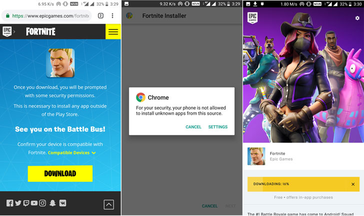 fortnite android apk download