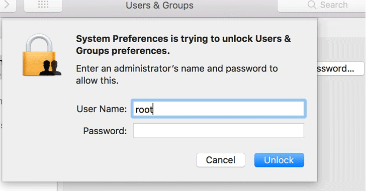 macOS High Sierra Bug Lets Anyone Gain Root Access Without a Password