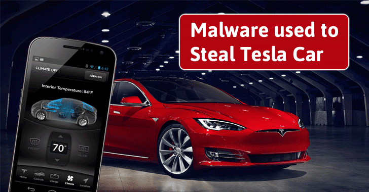 Researchers Show How to Steal Tesla Car by Hacking into Owner's Smartphone