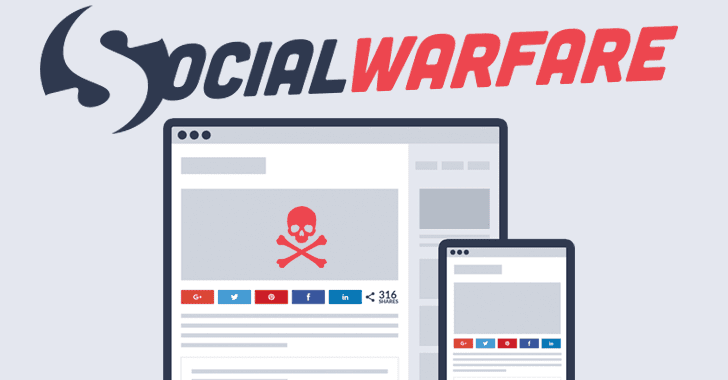 Hackers Actively Exploiting Widely-Used Social Share Plugin for WordPress