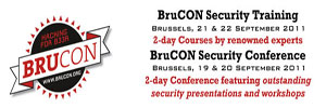 BruCON – Belgium's First Security Conference