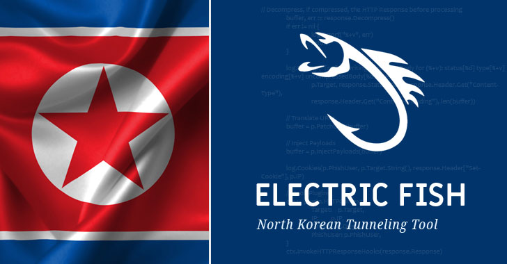 North Korean Hackers Using ELECTRICFISH Tunnels to Exfiltrate Data