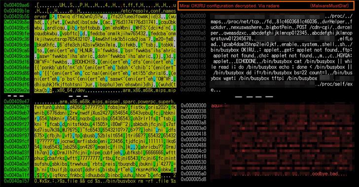 mirai-okiru-satori-iot-botnet-malware