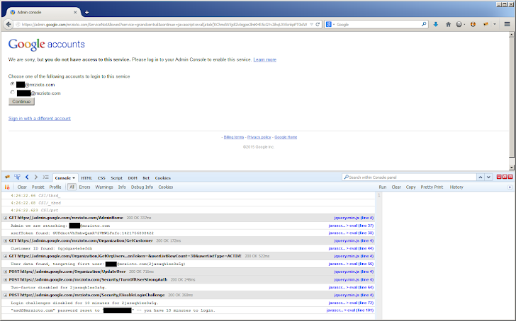 Google Apps Flaw Allowed Hacker to Hijack Account and Disable Two-factor Authentication