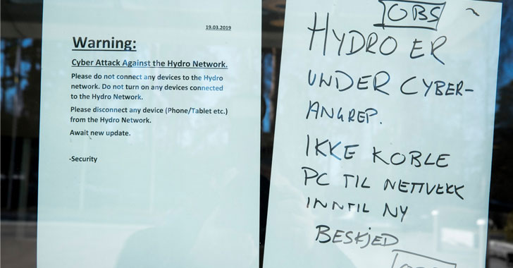 Norsk Hydro Ransomware Attack