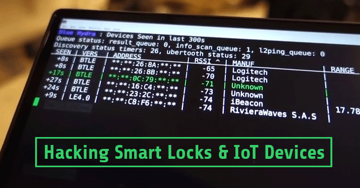 How to Hack Smart Bluetooth Locks and IoT Devices — Check this Out