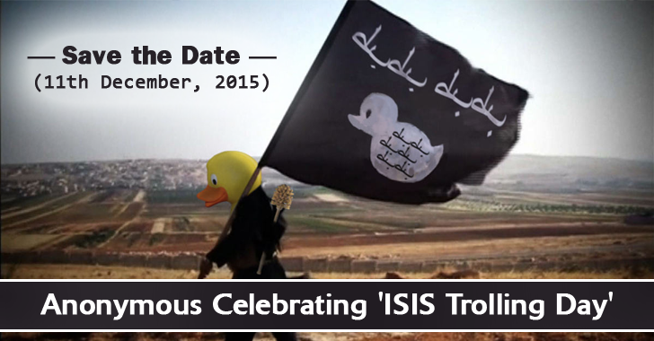 Save the Date — 11th December: Anonymous to Celebrate 'ISIS Trolling Day'
