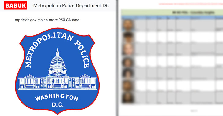 Hackers Threaten to Leak D.C. Police Informants' Info If Ransom Is Not Paid